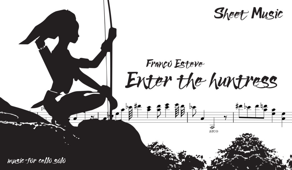 Now Available! Enter the Huntress Sheet Music - Franco Esteve
