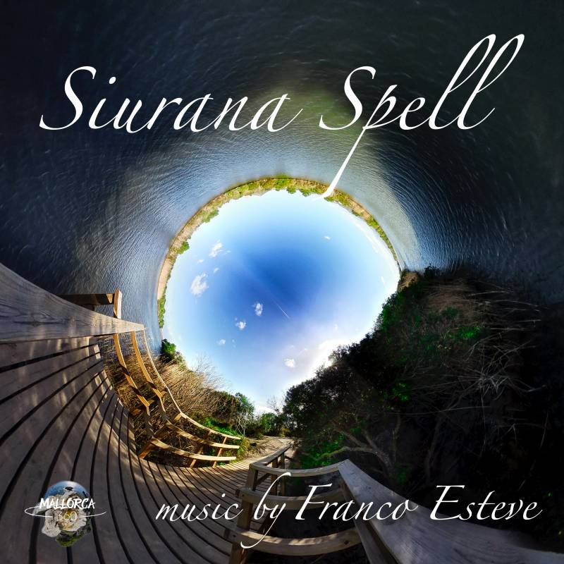 Siurana Spell New Age Music Single by Franco Esteve CD Cover